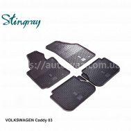 Автоковры Volkswagen Caddy 03-