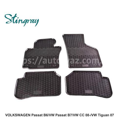 Автоковры Volkswagen Passat B6 05-/B7 11-/СС 08-/Tiguan 07-