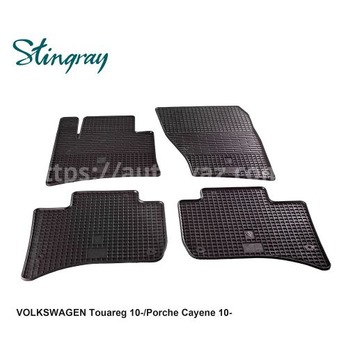 Автоковры Volkswagen Touareg 10-/Porche Cayene 10-