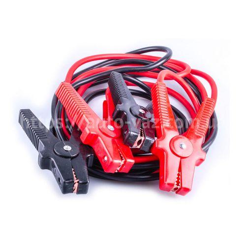 Пусковой кабель 500A 3.5м PVC к-т 2шт. Lavita