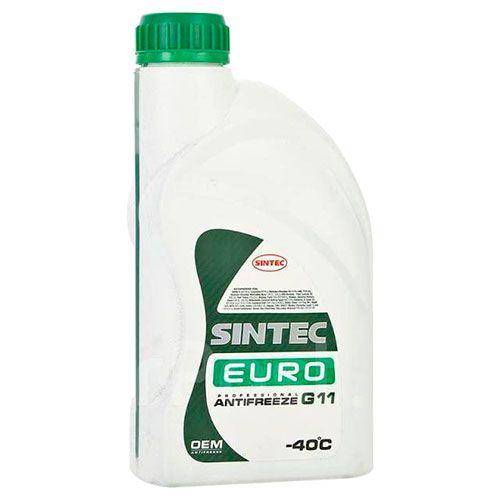 Антифриз Sintec EURO G11 зелёный 1л