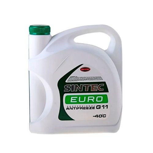 Антифриз Sintec EURO G11 зелёный 5л