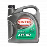 Масло трансмиссионное ATF Dexron2 Sintec 4л минеральное