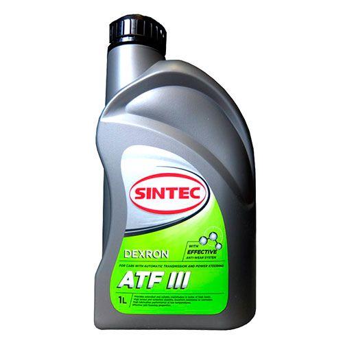 Масло трансмиссионное ATF Dexron3 Sintec 1л минеральное