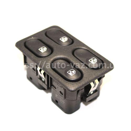 Блок управления стеклоподъёмниками (4 клавиши)