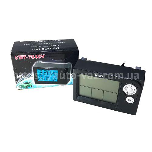 Бортовой компьютер ВАЗ-2110 (вместо часов) КНР