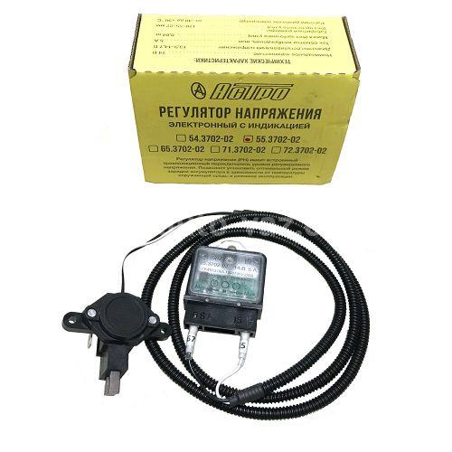 Регулятор напряжения со щёточным узлом ВАЗ-2110 (3-х уровневое) 55.3702-02 Астро Пензы