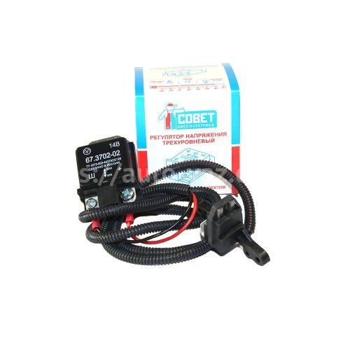 Интегральное реле зарядки ВАЗ-2110 (3-х уровневое)
