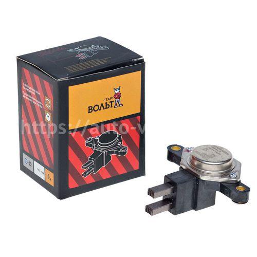 Интегральный регулятор напряжения со щёточным узлом ВАЗ-2110 СтартВольт