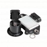 Интегральный регулятор напряжения со щёточным узлом Chevrolet Aveo 1,4-1,6/Lacetti (3 конт) (VRR 0550) СтартВольт