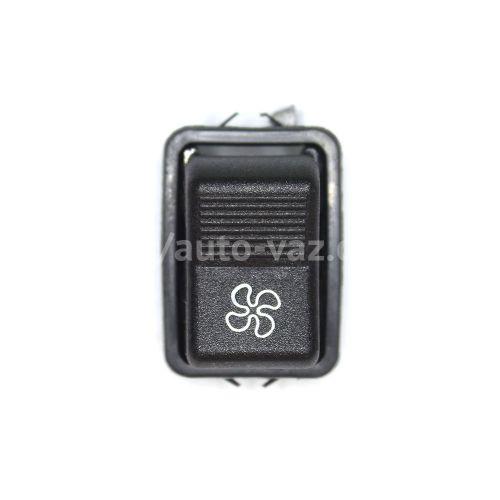 Клавиша включения вентилятора отопителя ВАЗ-2101-2107 (без подсветки)
