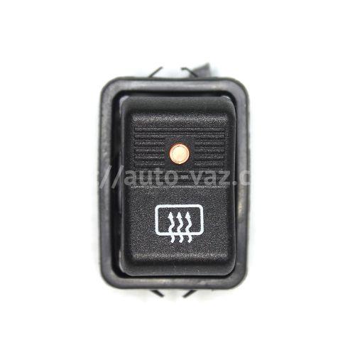 Клавиша включения обогрева заднего стекла ВАЗ-2101-2107 (с лампочкой)