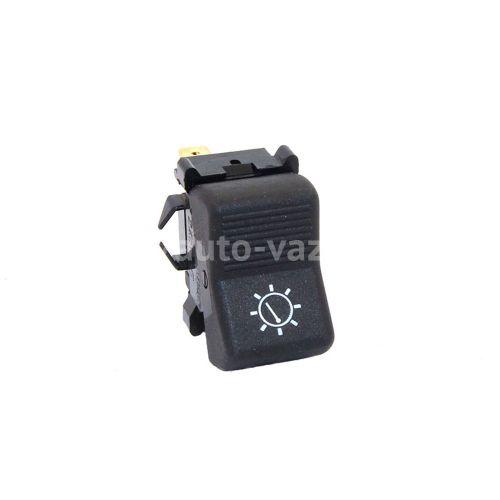Клавиша включения освещения приборной панели ВАЗ-2101