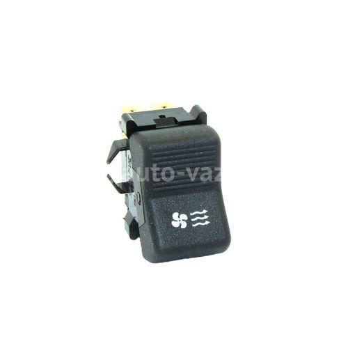 Клавиша включения вентилятора отопителя (6-ти контактная)