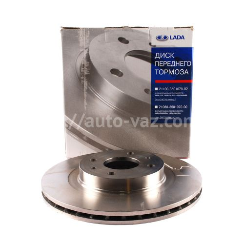 Диск тормозной ВАЗ-2112 АвтоВАЗ R14 вентилируемые