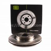 Диски тормозные ВАЗ-2112 Trialli R14 вентилируемые стандартные