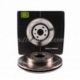 Диски тормозные ВАЗ-2110 Trialli R13 вентилируемые с выточкой