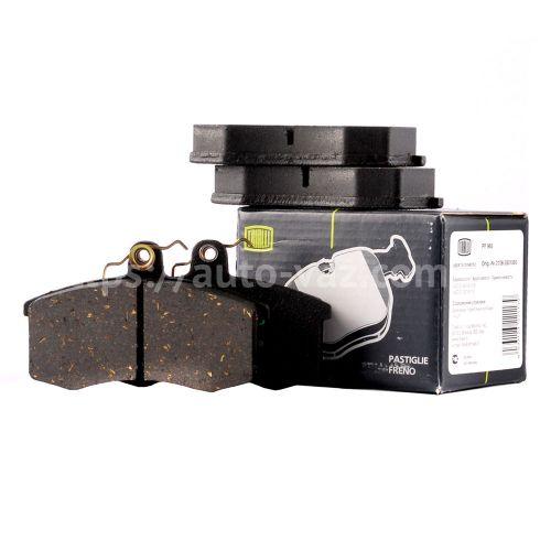 Колодка тормозная передняя ВАЗ-2108 (PF 965) Trialli (к-т)