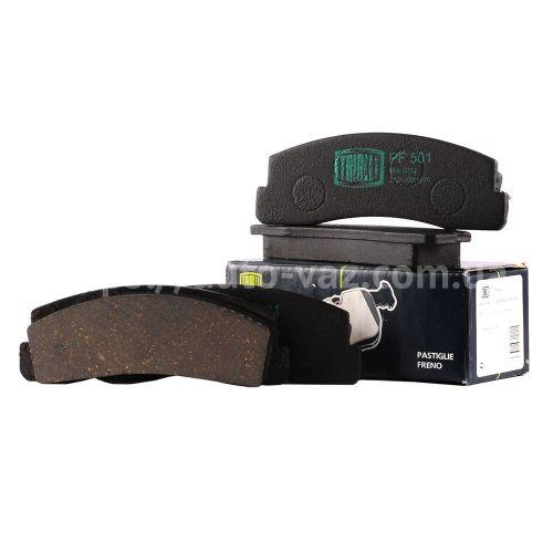 Колодка тормозная передняя ВАЗ-2121 (PF 501) Trialli (к-т)