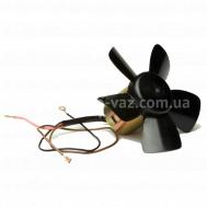 Электровентилятор отопителя 2101 Luzar (электродвигатель в сборе с крыльчаткой на подшипнике)