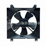 Электровентилятор охлаждения Chevrolet Lacetti (04-) Luzar