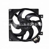 Вентилятор охлаждения радиатора ВАЗ-1118 (с кожухом без резистора) LFK 0118 Luzar