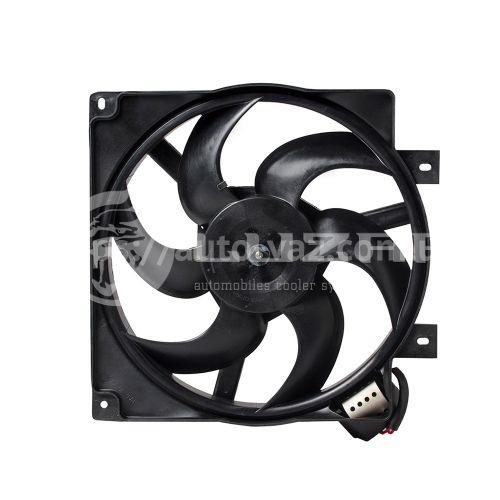 Вентилятор охлаждения радиатора ВАЗ-1118 (с кожухом