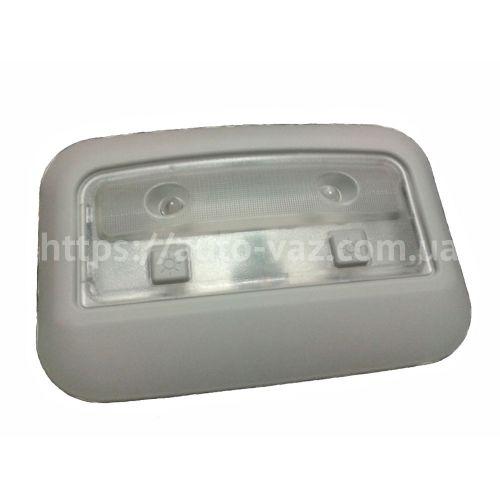 Плафон освещения салона задний ВАЗ-2170 Люкс (светодиодный в сборе с рамкой)