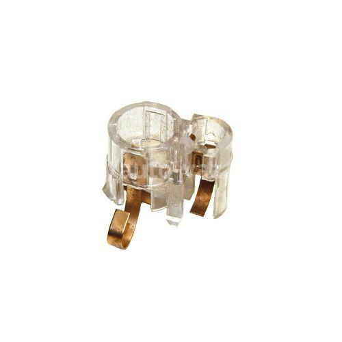 Патрон лампы заднего фонаря ВАЗ-2107 (завод) двухконтактный