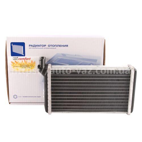 Радиатор отопителя алюминиевый Luzar ВАЗ-2110 Comfort +30%