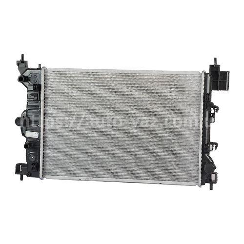 Радиатор кондиционера Chevrolet Aveo T300 (11-) с ресивером (LRAC 0595) Лузар