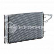 Радиатор кондиционера Kia Ceed 1.4/1.6/2.0 (07-) АКПП/МКПП с ресивером LRAC 08H2 Luzar