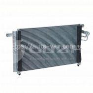Радиатор кондиционера Kia Rio 1.4/1.6 (05-) АКПП/МКПП LRAC 08G1 Luzar