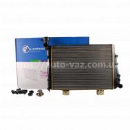 Радиатор охлаждения алюминиевый Luzar ВАЗ-2104,2105,2107 (карбюратор)