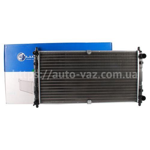 Радиатор охлаждения алюминиевый Luzar ВАЗ-2123 Niva Chevrolet (LRc 0123) Luzar