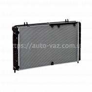 Радиатор охлаждения алюминиевый Luzar ВАЗ-1118 Sport (алюминиево-паяный) без кондиционера