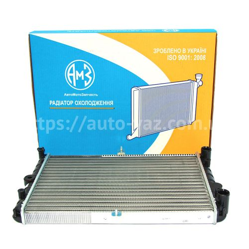 Радиатор охлаждения алюминиевый АМЗ ВАЗ-2108