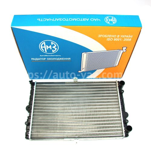 Радиатор охлаждения алюминиевый ВАЗ-21082 (инжектор) АМЗ