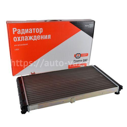 Радиатор охлаждения алюминиевый ВАЗ-1118 ДААЗ