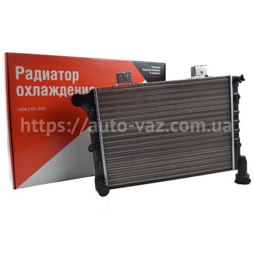 Радиатор охлаждения алюминиевый ВАЗ-21073 (инжекторный) ДААЗ