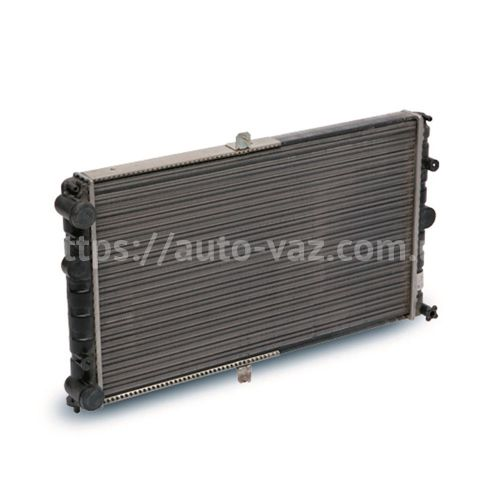 Радиатор охлаждения алюминиевый Luzar ВАЗ-2110 для карбюраторных двигателей