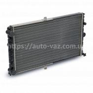 Радиатор охлаждения алюминиевый Luzar ВАЗ-2112 для ижекторных двигателей