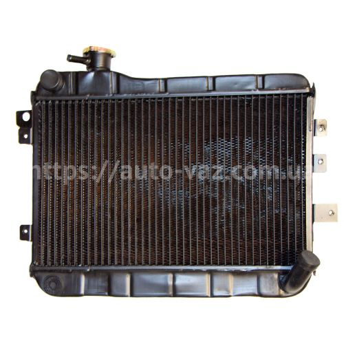 Радиатор охлаждения медный ВАЗ-2103 Iran 2-х рядный