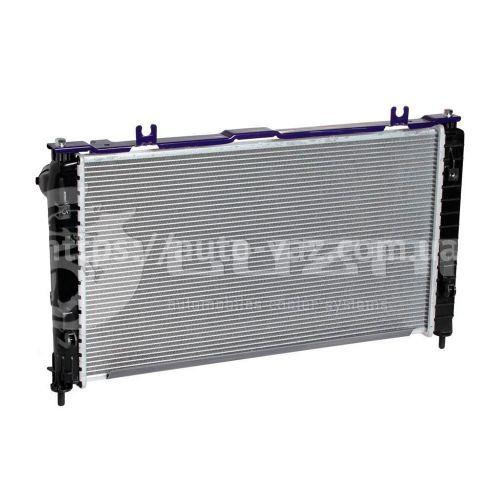 Радиатор охлаждения ВАЗ-2190 Лада Гранта (15-) (тип KDAC) (алюм-паяный) (LRC 0194) Лузар