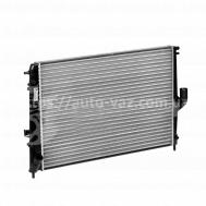 Радиатор охлаждения Renault Logan 1.4,1.6 (08-)/Duster 1.6/2.0 (10-) АКПП (алюм-паян) LRc 09198 Лузар