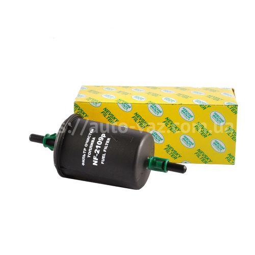 Фильтр топливный ВАЗ-2110 (инж. штуцер пластик) Невский Фильтр